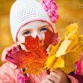 Добрые фото девочка осень картинки для детей 24