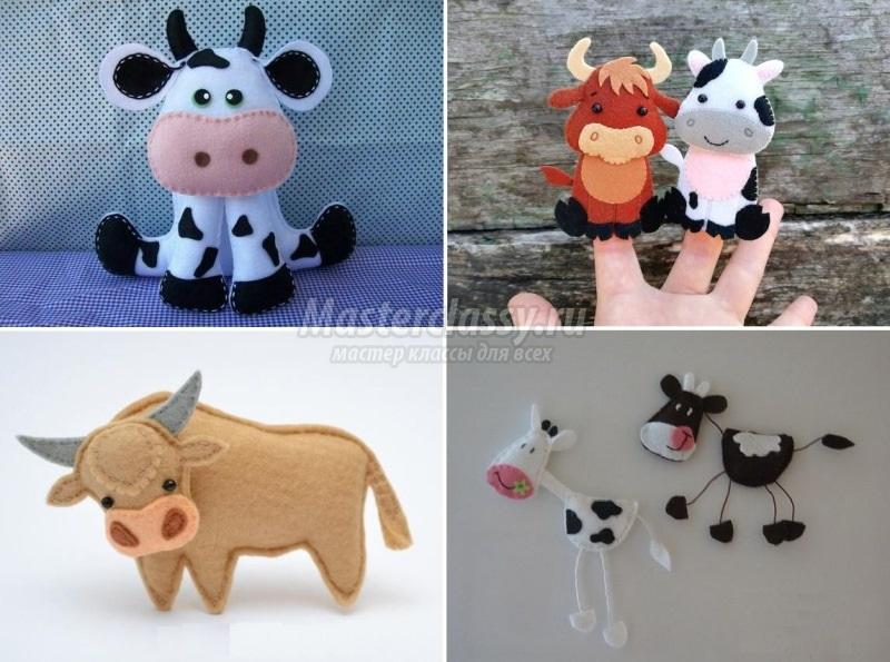 Домашние игрушки на елку своими руками в год быка 2021 13
