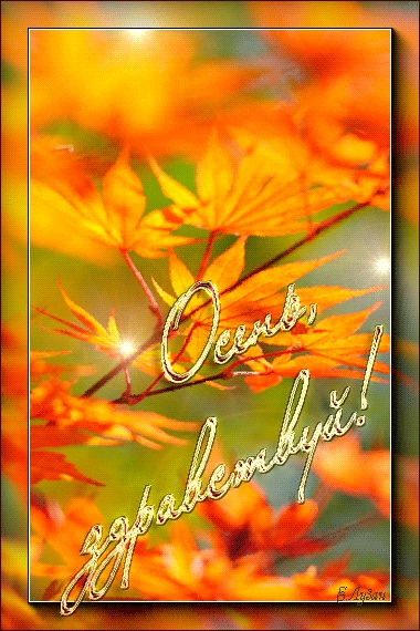 Здравствуй, осень Красивые картинки 10