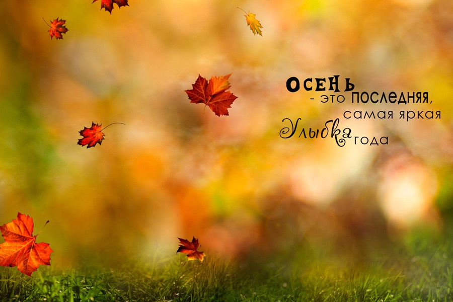 Здравствуй, осень Красивые картинки 18