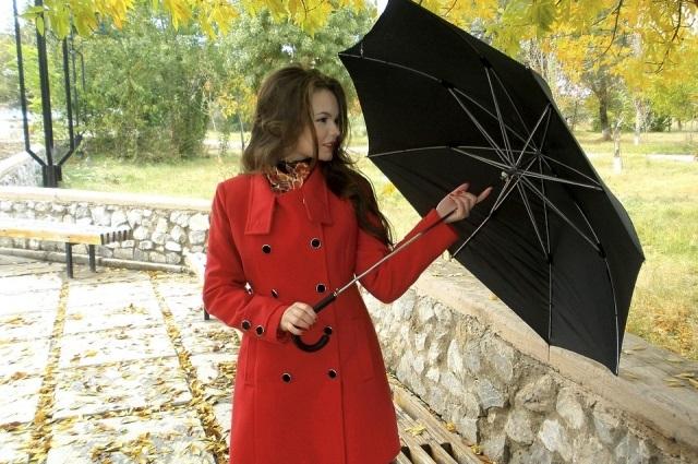 Идеи для фотосессии осенью на улице с зонтиком 10