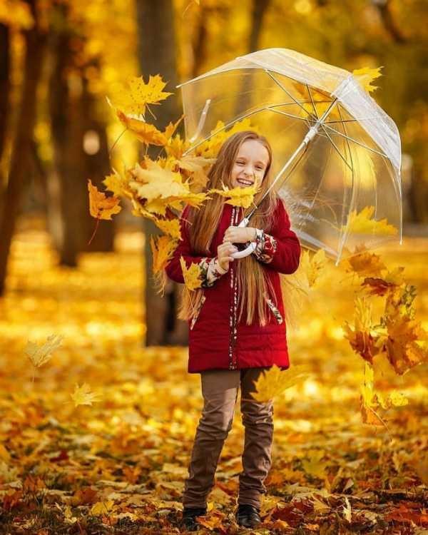 Идеи для фотосессии осенью на улице с зонтиком 16