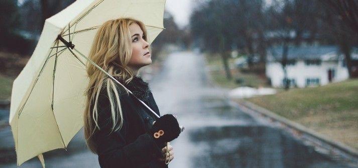Идеи для фотосессии осенью на улице с зонтиком 30