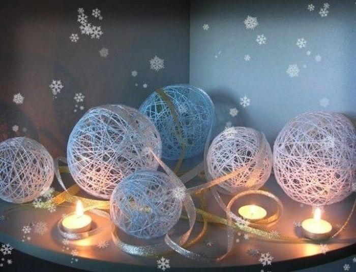 Идея украшение зала в детском саду в новый год 14