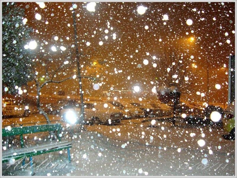 Красивые картинки с первым снегом 16