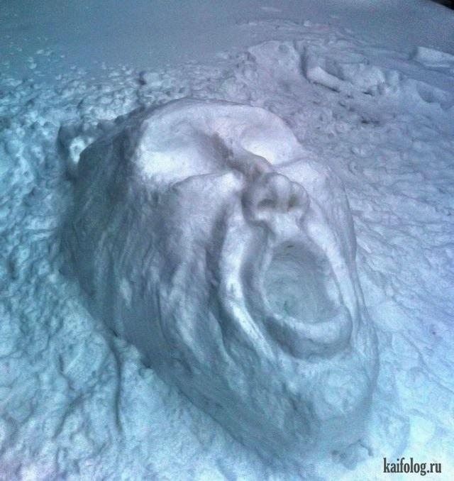 Красивые картинки с первым снегом 18
