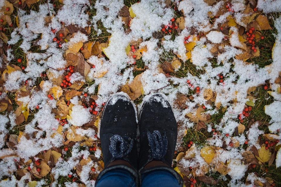 Красивые картинки с первым снегом 19