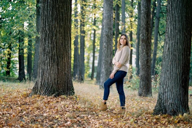 Крутые идеи фотосессии в осеннем лесу 01