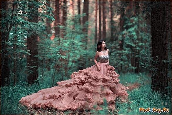 Крутые идеи фотосессии в осеннем лесу 10