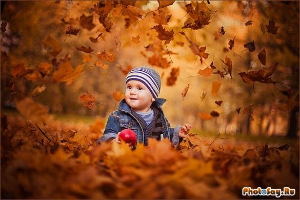 Крутые идеи фотосессии в осеннем лесу 17