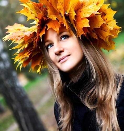 Крутые идеи фотосессии в осеннем лесу 22