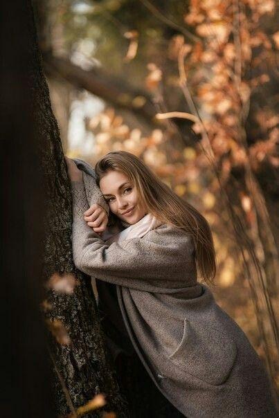 Крутые идеи фотосессии в осеннем лесу 28