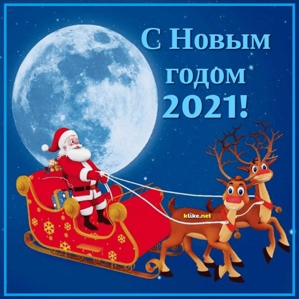 Крутые открытки на год быка 2021 16