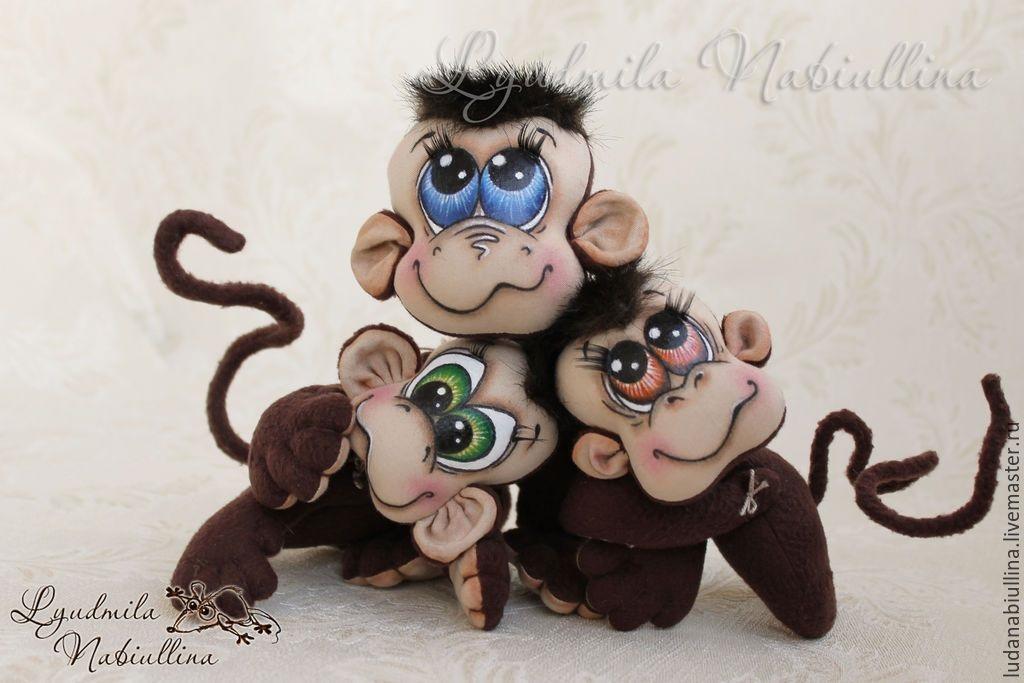 Милые обезьянки мк на новый год 01