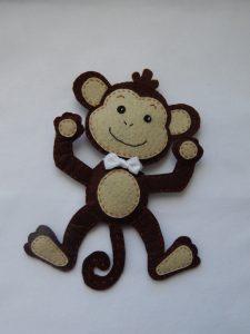 Милые обезьянки мк на новый год 06