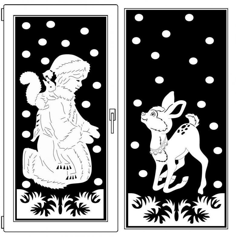 Новый год быка черно белые картинки 2021 21