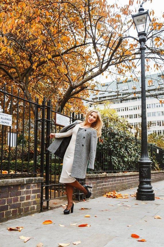 Осенью в пальто идеи для фотосессии 01