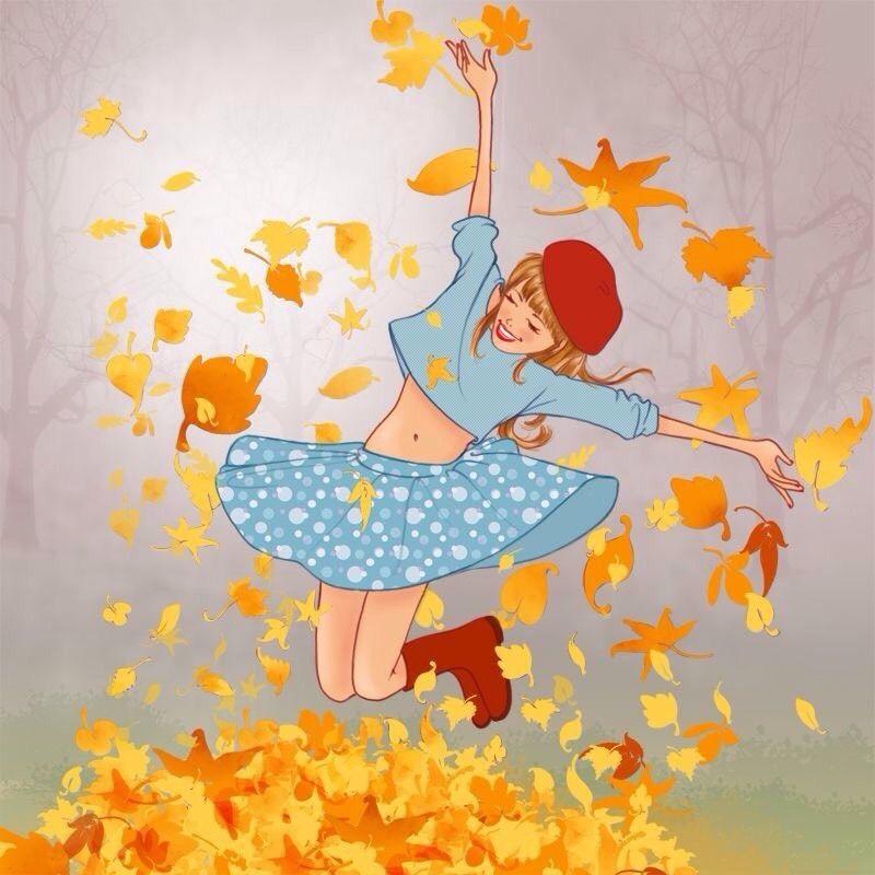 Осень ты прекрасна картинки поделки 08