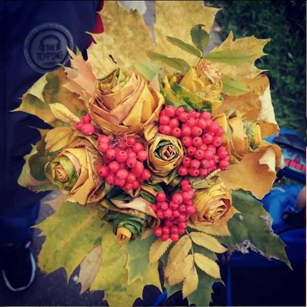 Осень ты прекрасна картинки поделки 09