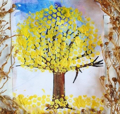 Осень ты прекрасна картинки поделки 13