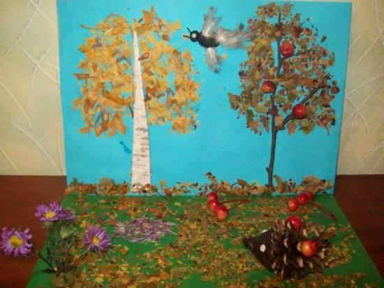 Осень ты прекрасна картинки поделки 26