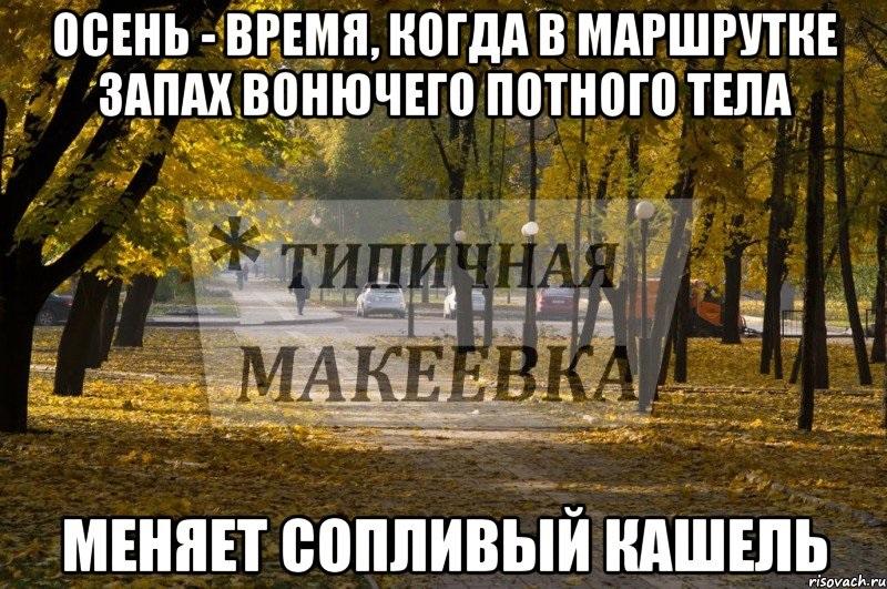 Очень смешные мемы про осень 23
