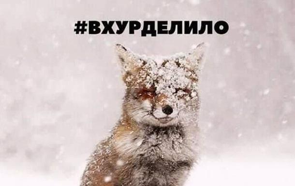 Очень смешные мемы про первый снег 02