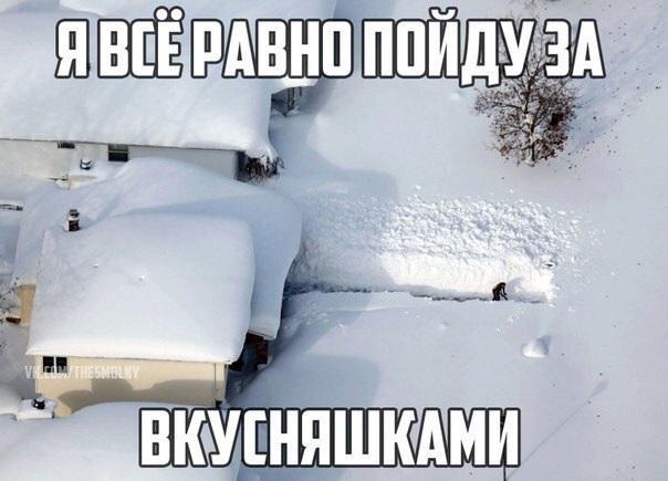 Прикольные картинки про зиму с надписями 05