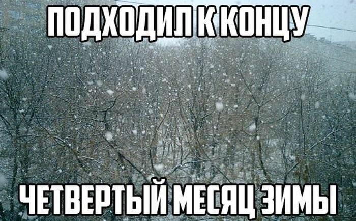 Прикольные картинки про зиму с надписями 15