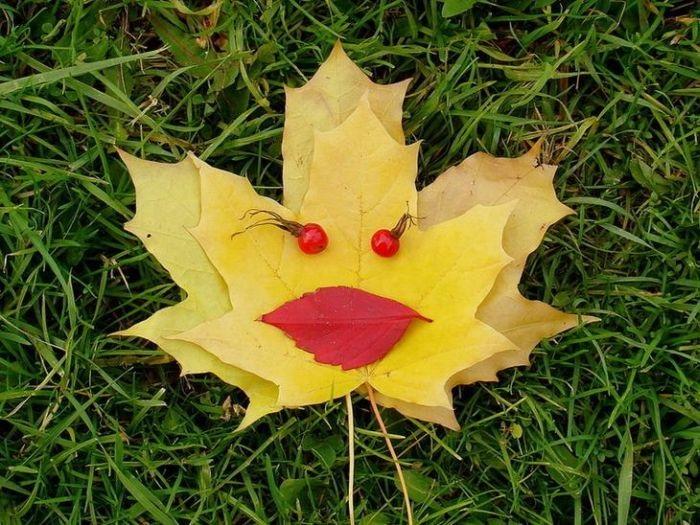 Прикольные картинки про осень с надписями 12