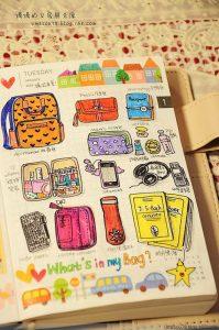 Смешные картинки про осень для личного дневника 05