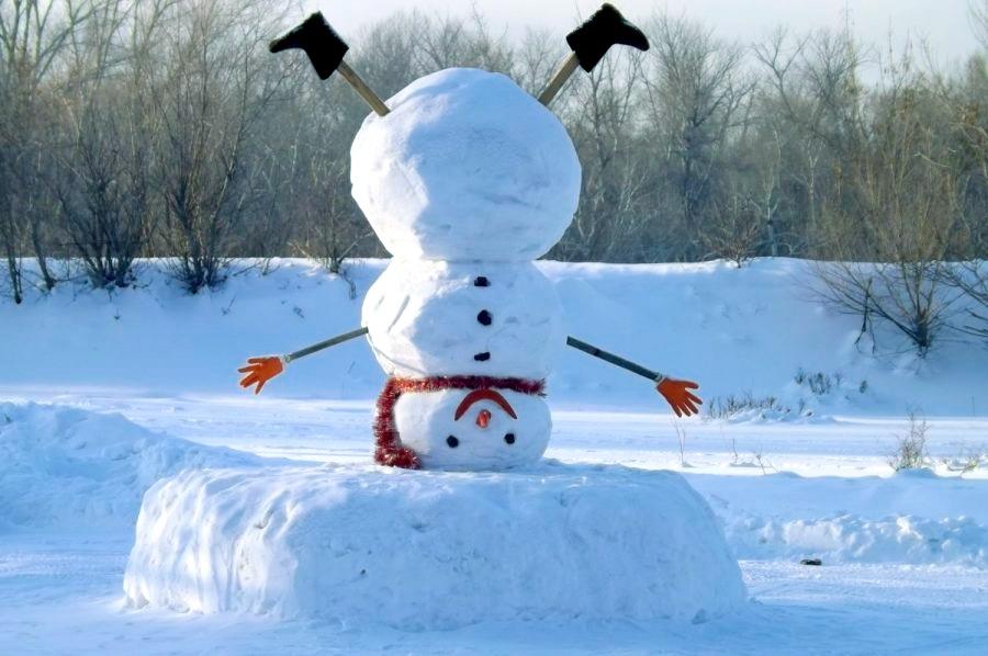Смешные картинки с первым снегом 19