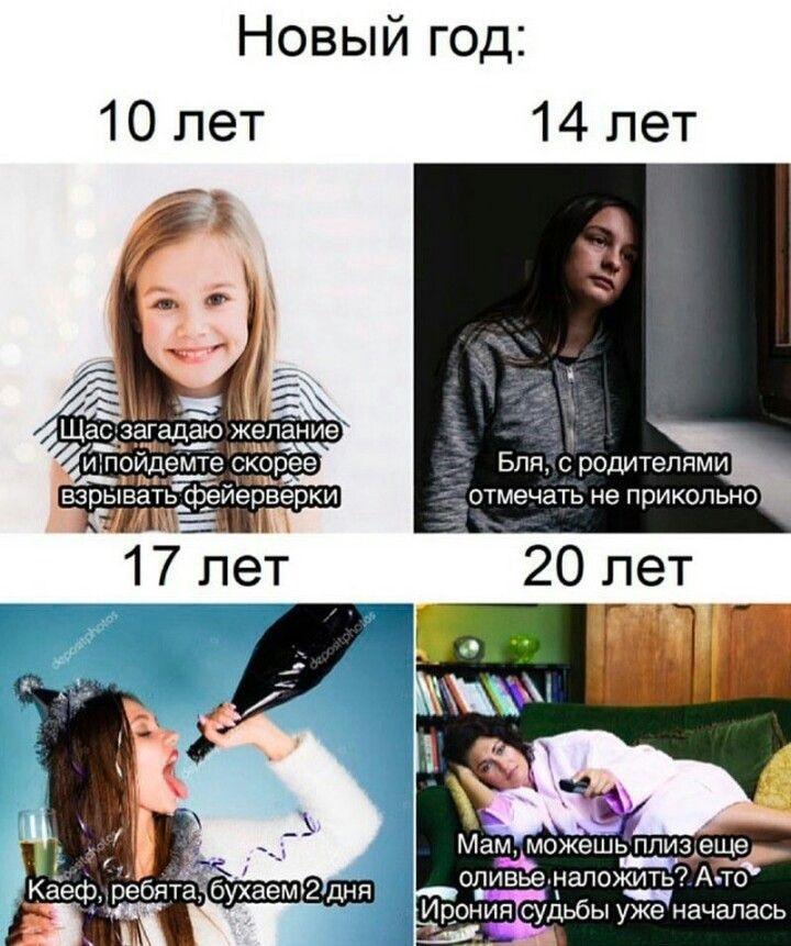 Смешные мемы про день рождения в новый год 11