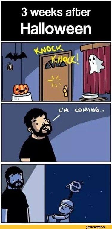 Смешные мемы про хэлоуин 01