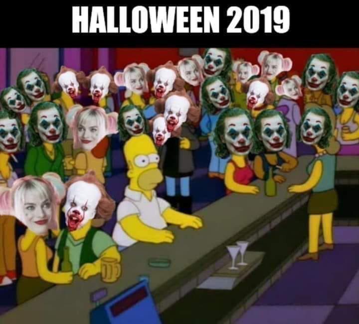 Смешные мемы про хэлоуин 23