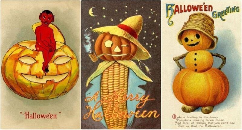 Страшно прикольные открытки на хэлоуин 09