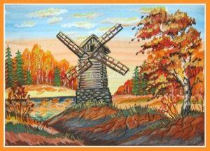 Умело рисуем акварелью осень с детьми 16