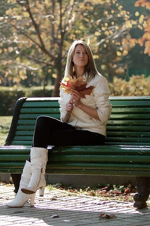 Фотографии для фотосессии осенью креативные примеры 11