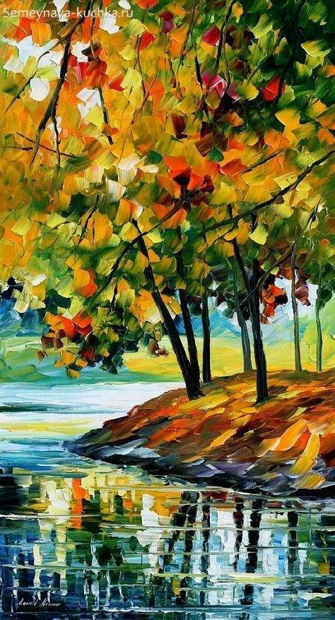 Что можно нарисовать на тему Осень в деревне 16