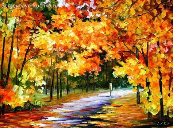 Что можно нарисовать на тему Осень в деревне 20