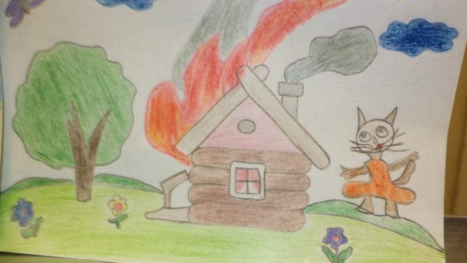Что можно нарисовать на тему Пожарная безопасность 11