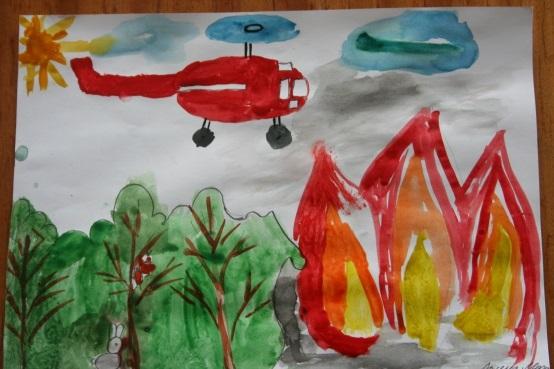 Что можно нарисовать на тему Пожарная безопасность 14