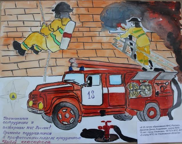 Что можно нарисовать на тему Пожарная безопасность 22