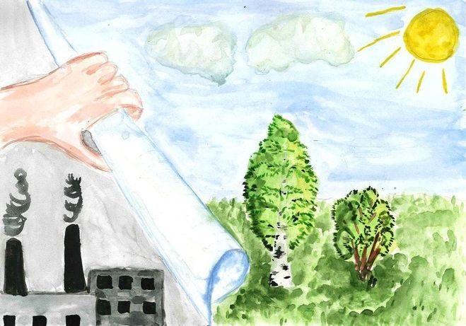 Что можно нарисовать на тему Экологии 03