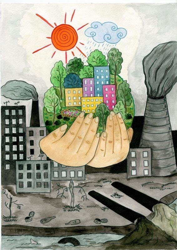 Что можно нарисовать на тему Экологии 04
