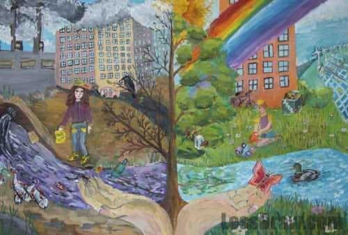 Что можно нарисовать на тему Экологии 09