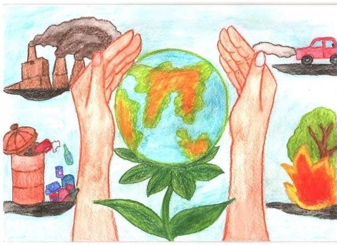 Что можно нарисовать на тему Экологии 13