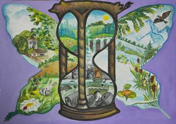 Что можно нарисовать на тему Экологии 14