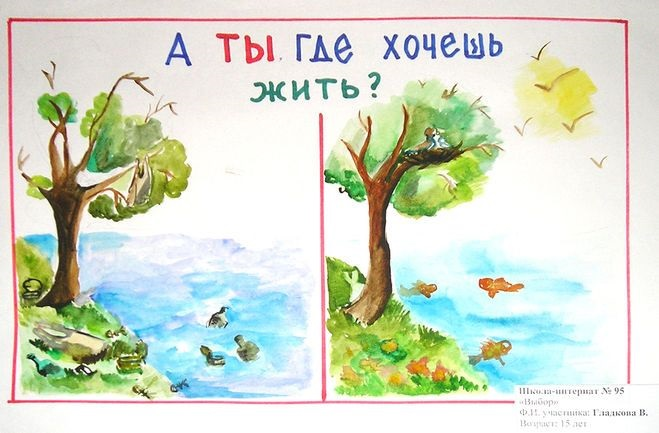 Что можно нарисовать на тему Экологии 21
