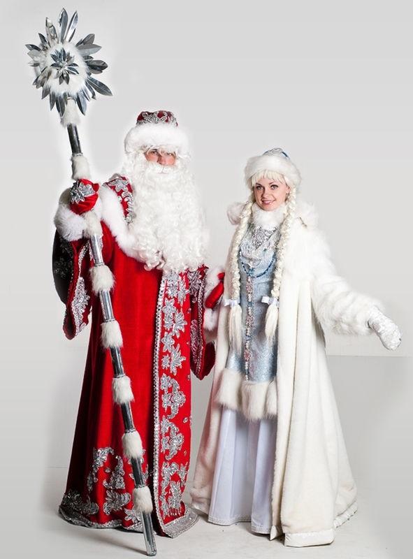 Классные обои снегурочки на телефон 15